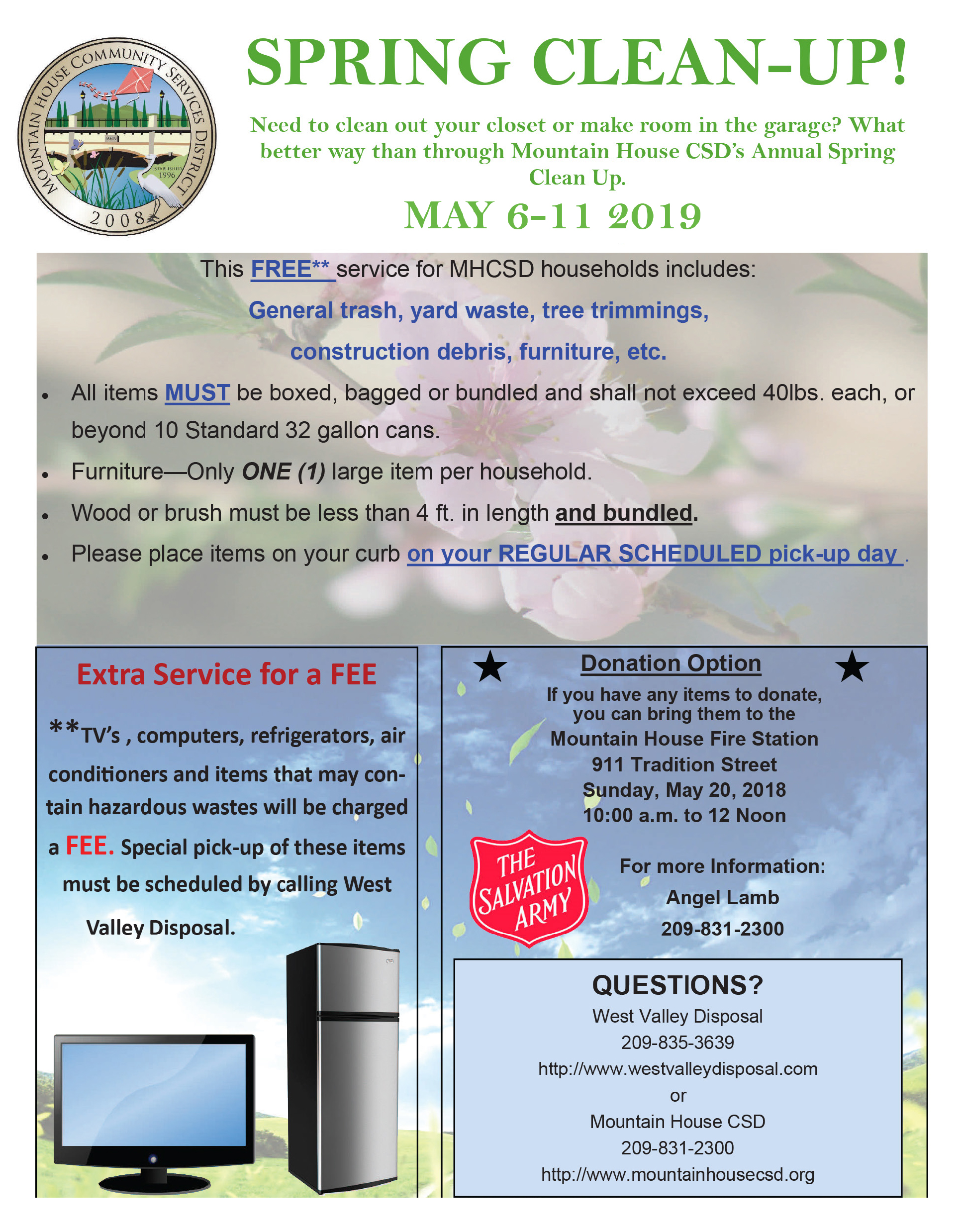 Spring Clean-up Flyer